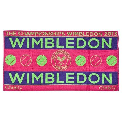 Wimbledon Ladies Championship Towel 2013