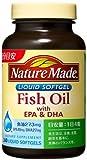 ネイチャーメイド Fish Oil (魚油)EPA&DHAファミリーサイズ 240粒