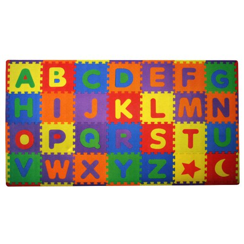 Cheap Build Plus Play Build Plus Play 56-Piece Build And Play Alphabets Play Mat 7′ x 4′ (B004KPVXZM)
