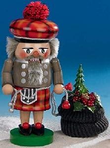 Steinbach Scottish Santa German Nutcracker