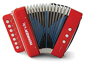 Hohner Kids UC102R Musical Toy Accordion Effect