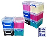 Asstd Lot of 3L Litre Really Useful Plastic Boxes* 10 Boxes only £39.99 * -that's just £3.99 a box- Free UK Mainland delivery