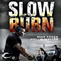 Slow Burn Audiobook by Mike Fosen, Hollis Weller Narrated by Basil Sands