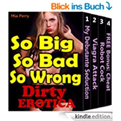 OMG So Big, So Bad, So Wrong (Erotica Taboo Naughty Massage Art Virgin Sex First Time Lover Book 1) (English Edition)
