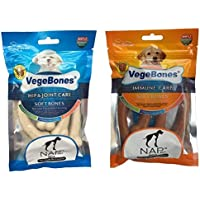 NAP PET INDIA Chicken Calcium Milk Bone For Hip Joint & Immune Care ( Pack Of 2)