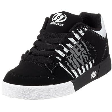 Amazon.com: Heelys Caution Skate Shoe (9, Black/White Grey): Shoes