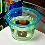 Bomb Shotz Blue 3.7oz / 105ml (Case of 500) Bomb Shot Cups, Bomb Shotz, Polystyrene Shot Cups, Disposable Shot Glasses, Plastic Shot Glasses Ideal for Red Bull and Jagermeister