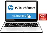 HP Touchsmart 15-G082 Sleek Laptop Quad Core up to 2.4GHz 4GB 500GB 15.6
