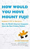 How Would You Move Mount Fuji? (0316005304) by William Poundstone