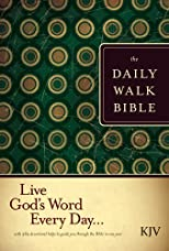 The Daily Walk Bible KJV (Daily Walk Bible: KJV)