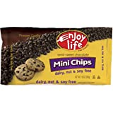 Enjoy Life Foods Semi-Sweet Chocolate Chips Gluten Free 10 Oz -Pack of 12