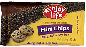 Enjoy Life Semi Sweet Chocolate Chip, 10 Ounce -- 12 per case.