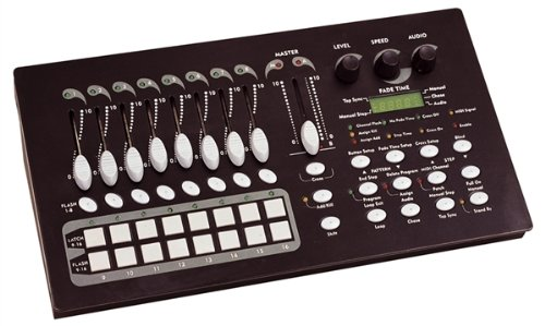 G018WG Soundlab DMX 512 16 Channel Stage Lighting Control Console Unit