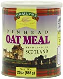 Hamlyn's Pinhead Oatmeal, 20-Ounce Tins (Pack of 6)