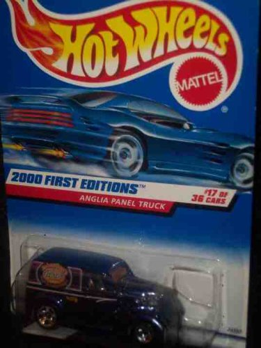 Hot Wheels 2000 First Editions #17 Anglia Panel Truck #2000-77 1:64 Scale - 1