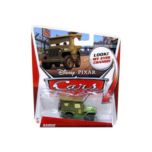 Cars Lenticular Eyes Sarge Die Cast Vehicle