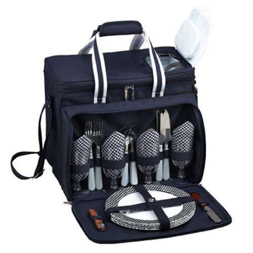 London Picnic Cooler Set, 4-Person
