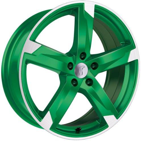 1 x Rondell Z Design 01RZ in 8,0 x 19 ET 45 LZ/LK 5 x 114,3 Farbe Racing Grün, poliert für Hyundai ix35 Typ ELH, LM