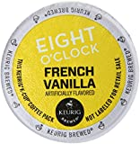 Eight O'Clock Ground Coffee, French Vanilla, 3.7 Ounce (Pack of 6)