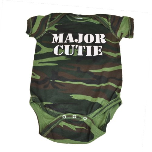 Major Cutie Authentic Baby Spencers Body Suit Army Style Children Camouflage