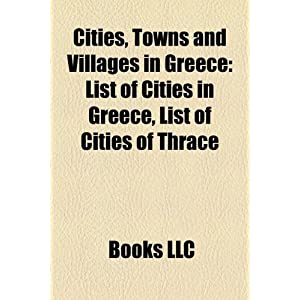 List Of Towns Greece | RM.