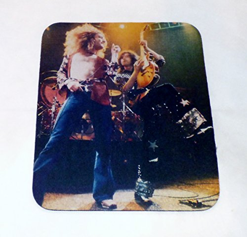 Led Zeppelin Robert & Jimmy 70S Computer Mouse Pad