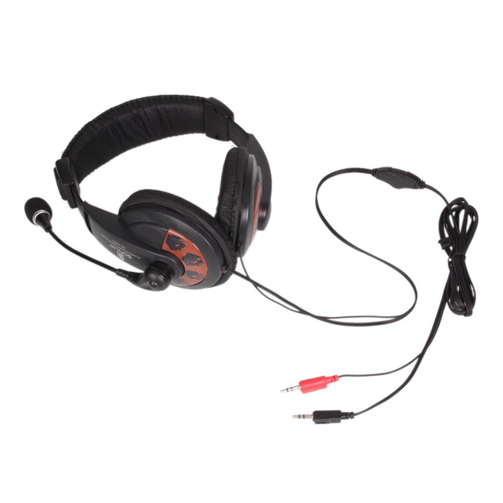 High Quality Stereo Headset Earphone Headphone with Microphone for Computer PC Laptop