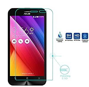 AA19 Tempered Glass for Asus Zenfone 2 Laser ZE550KL 5.5 Inch 0.3mm Pro+ Tempered Glass Screen Protector comes with Alcohol wet cloth pad & clean micro fibre Dry cloth For Asus Zenfone 2 Laser ZE550KL 5.5 Inch