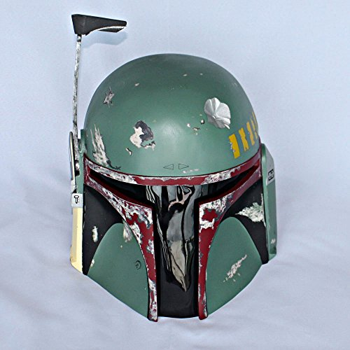 1:1 Custom Halloween Costume Cosplay Prop Star Wars Boba Fett Helmet Mask MA204