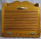 Oak Bread Box (Dark) (Large)