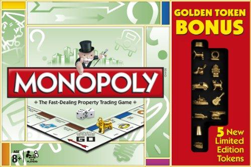 Monopoly Goldene Spielfiguren Limited Edition (Englische Sprache)