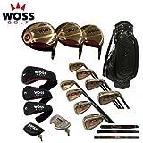 WOSS(ウォズ)DXメンズゴルフフルセット(#1・3・5W、8I(5?SW)、PT)