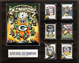 NFL Green Bay Packers Super Bowl XLV Champions Plaque by C&I Collectables