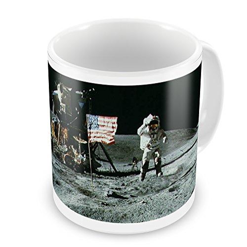 Coffee Mug Nasa Moon - Neonblond