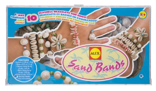 ALEX Toys Do-it-Yourself Wear Sand Bands Jewelry