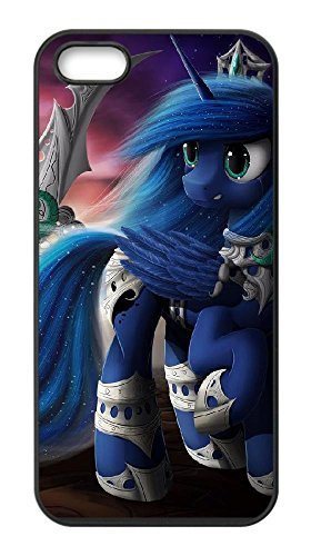 Creative My Little Pony Case for Iphone 5,5S,Princess Luna phone Case for Iphone 5,5S.