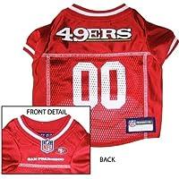 San Francisco 49ers NFL Dog Jersey - Large
