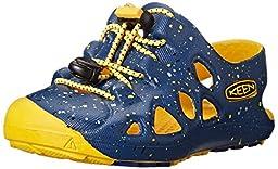 KEEN Rio Sandal, True Blue/Yellow, 6 M US Toddler