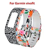 CreateGreat 2016 New Replacement Wristbands with Buckle for Garmin Vivofit band/ Garmin Vivofit Accessory Band/Garmin Wristbands (No Tracker)