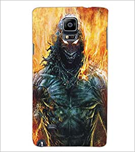 SAMSUNG GALAXY NOTE 4 MONSTER Designer Back Cover Case By PRINTSWAG