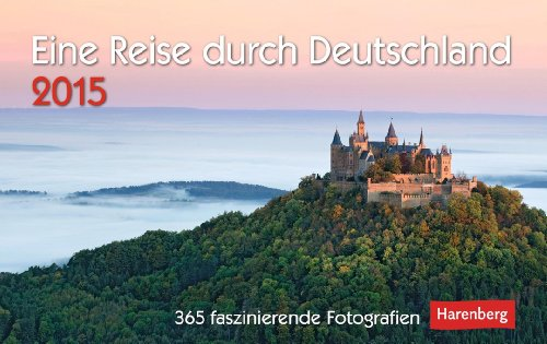 eine reise durch deutschland premiumkalender 2015 365 faszinierende fotografien buch von. Black Bedroom Furniture Sets. Home Design Ideas