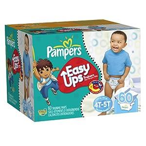 帮宝适 Pampers Easy Ups Trainers 男宝拉拉纸尿裤现价$21.39( 原价$40.4)