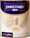 Johnstones No Ordinary Paint One Coat Non Drip Oil Based Gloss Oatcake 750ml