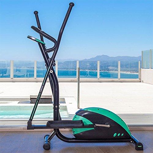 Bicicletta Ellittica Trainer Finess Schermo LCD (Tempo, Velocità, calorie, distanza e impulso)