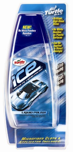 Turtle Wax T5698 473ml Ice Synthetic Liquid Polish for High Gloss Shine