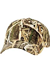 Kati - Structured Mid-Profile Mossy Oak Camouflage Cap - MO09-MO18