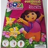 Dora The Explorer Pop-Outz Grab Bag ~ Color, Pop-out, Play (Adventures With Dora And Boots)