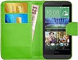GizzmoHeaven HTC Desire 510 Leder Klappetui Schutzhülle