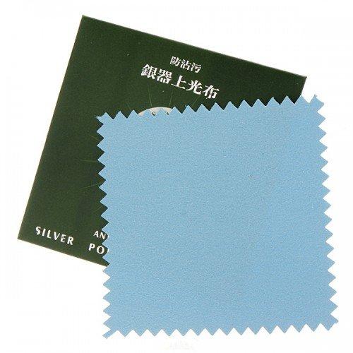Big Bargain 5x Anti-Tarnish Silver Polishing Cloth Cleaner Platinum Jewelry Cleaning 82x82mm
