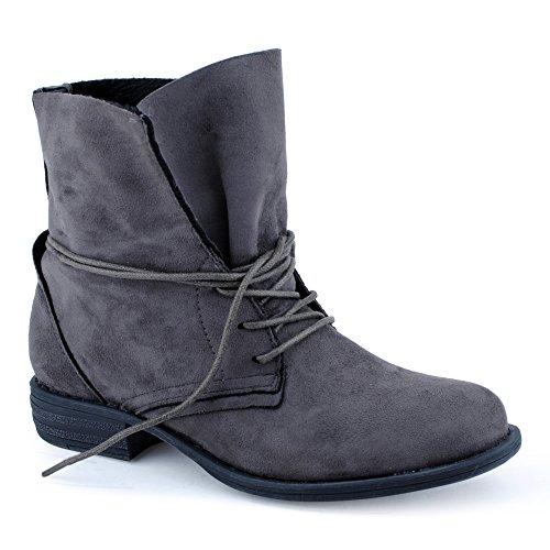 damen-schnur-boots-stiefeletten-warm-gefuttert-stiefel-schuhe-grau-2-ungefuttert-eu-39